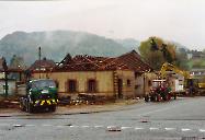 Gasthaus zur Eisenbahn Scheune 1992