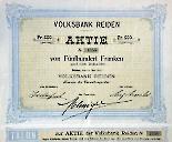 Volksbank Reiden Aktie