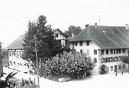 Gasthaus zur Sonne 1918 mit Saal