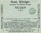 Gerberei + Lederhandlung Gebr. Elmiger 1903