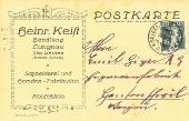 Heinrich Keist 1920