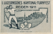 1. Luzernisches Kantonal Turnfest 1911