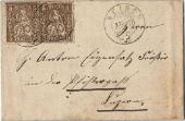 Brief von Reiden nach Luzern 1870