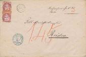 Brief von Roggliswil nach Reiden 1874