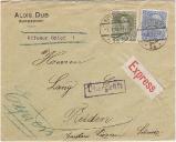 Brief nach Reiden 1915