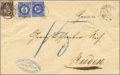 Brief von Dagmersellen nach Reiden 1879