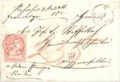 Brief von Reiden nach Dagmersellen 1861