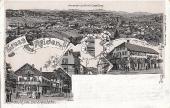 Gasthaus zur Eisenbahn und Gasthaus zur Sonne 1905