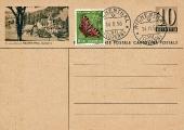 Postkarte 1956