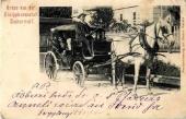 Pferdekutsche 1903