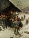 Weihnachtssingen im Reidermoos 1887